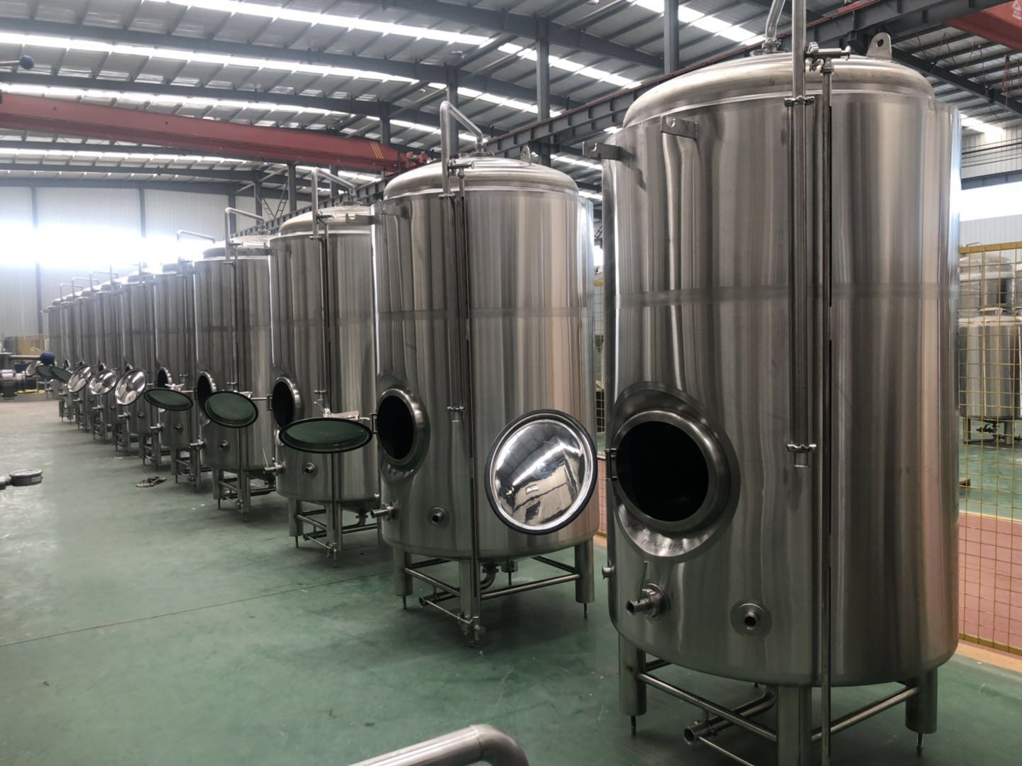 15BBL and 30BBL Brewing Bright tanks for USA market