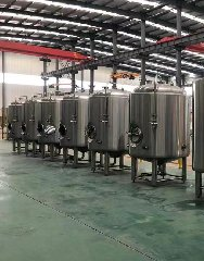1000L Bright tanks for India brewery