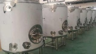 10hl Stainless steel bright tanks