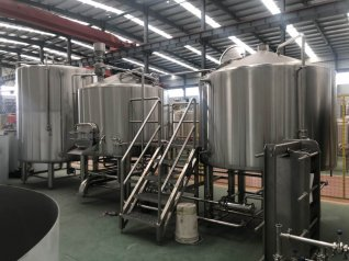 2500L Commercial Brewing Equipment