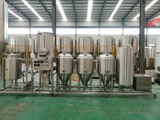 100L home brewing equipment design