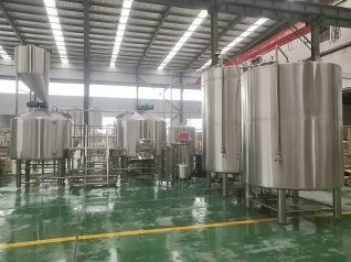2000L Commercial Brewing Equipment