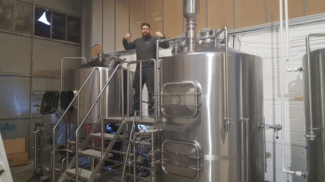 Filtration technology used in beer equipment